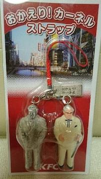 新品  貴重! ケンタッキー KFC フィギュア ストラップ 大阪 道頓堀川 2009