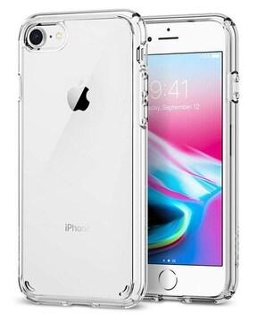スマホケース iPhone8 ケース /  クリスタル・クリア