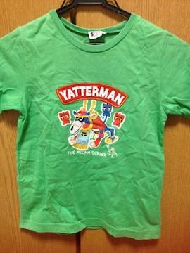 美品☆ヤッターマン緑色半袖T☆130cm
