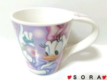 ディズニー【デイジー】可愛いオリジナルボックス付♪陶器製マグカップ