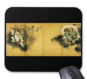 尾形光琳『 風神雷神図 』のマウスパッド