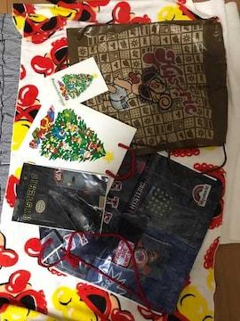 ヒスミニ ヒステリックミニ ショップ袋 4枚セット ポストカード