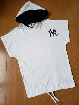 ☆新品同様☆LB-03☆フード半袖Tシャツ