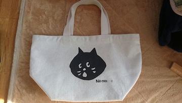 にゃーバッグ トートバッグ 猫 Ne-net