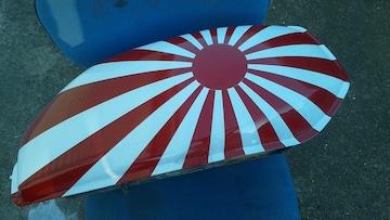 ホーク バブ 角タンク 日章旗 ベース CB250T 400T