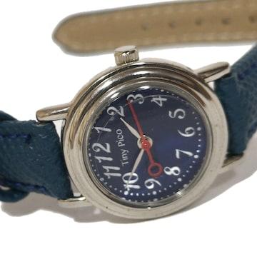 美品【980円〜】TANY PICO ポインタ秒針が可愛い腕時計