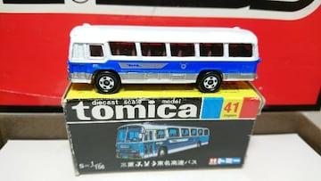 ★復刻版黒箱トミカ41★三菱ふそう東名高速バス★TOMY★