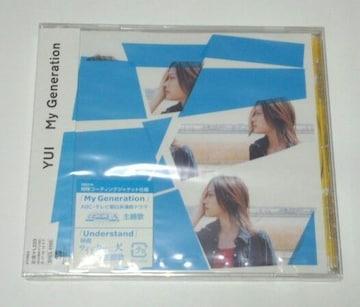 My Generation/Understand(初回盤)/YUI/ユイ/希少