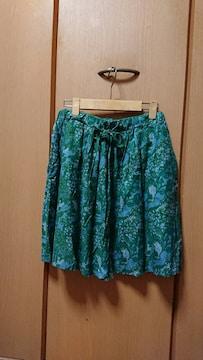 チチカカ 完売 オールシーズン履けるスカート 個性的 ワンピ