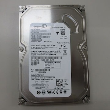 Seagate Barracuda 7200.10 RoHS SERIAL ATA 160GB HDD S/N 9RX9