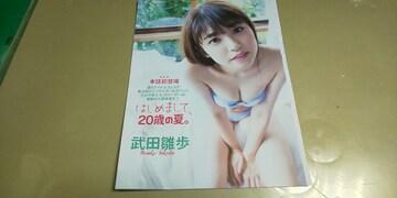★武田雛歩.20歳の夏★グラビア切り抜き7P。