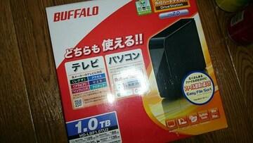 BUFFALO 外付けHDD 1.0TB