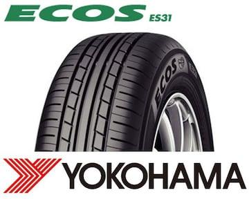 ★185/60R16 緊急入荷★ヨコハマ ECOS ES31 新品タイヤ 4本セット