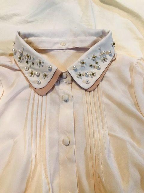 dazzlinビジューシャツ新品未使用 < ブランドの