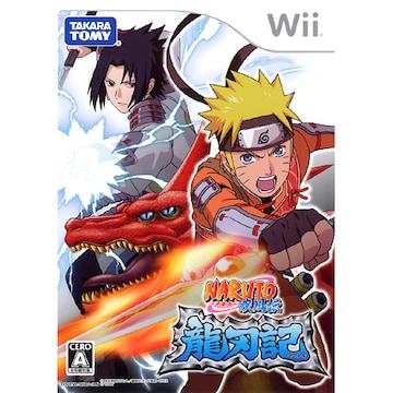 Wii》NARUTO-ナルト- 疾風伝 龍刃記 [172000406]