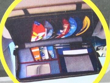 サンバイザーにCD、カード、チケット入れボックスタイプ