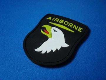 ●送料無料!サバゲー US AIRBORNE ゴム系 全天候TYPEパッチ!