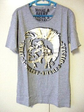 ◆DIESEL◆ディーゼル◆プリントTシャツ◆新品◆L◆