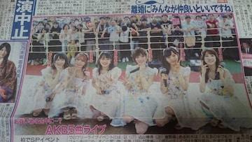 「AKB」2019.6.2 日刊スポーツ 1枚