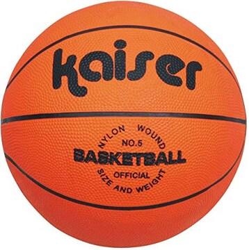 Kaiser(カイザー) キャンパス バスケット ボール 5号 KW-492 ボ