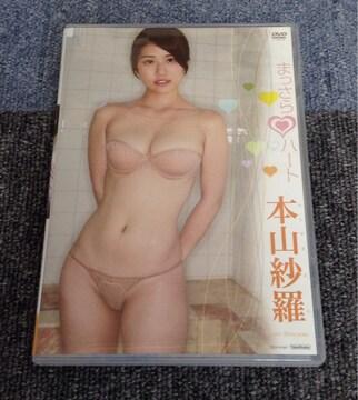 送料無料 本山紗羅 まっさらハート DVD 中古美品
