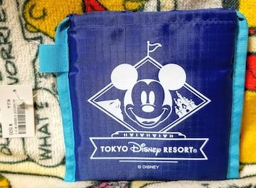 TDR☆ミッキー【ショッピングバッグ】折り畳んで持ち運びに便利