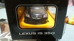 レクサスIS350ブラック24/1ミニカー ラジコン新品lexus