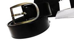 正規新古 激レア Dior Homme ディオールオム ラウンドDバックルベルト黒 最小75