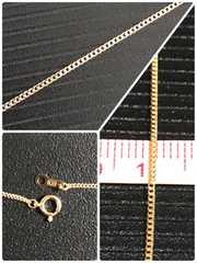 [新品同様]K18喜平 50cm細身ネックレス 約2.0g キヘイ 18金