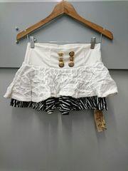 d.i.a☆ニット×ゼブラ柄スカート