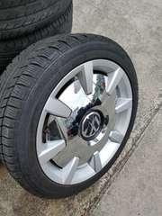 VW  ザ・ビートル 純正アルミホイールキャップ 18インチ メッキカバ