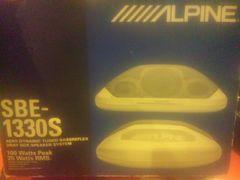 ALPINE アルパイン 当時物 イルミ付 新品未使用 街道 VIP カスタム DAD