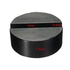 ガレージ ジャッキ対応 高剛性&肉厚 溝付ゴムパッド 2t~3t