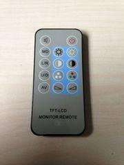TFT-LCDモニターリモコン!