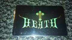 テレフォンカード  HEATH  X JAPAN  未使用品