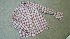 XOXOチェックシャツ