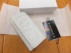 送料無料★NT127★カステルバジャック 新品白クロコ調革の4連キーケース¥7020