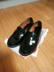 ☆美品 ローファー黒色 24,5cm