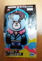 KRUNK×BIGBANG FXXX IT バッグタグ