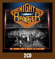 ∴●Night Ranger[90251]35 Years and … ナイト・レンジャー2CD