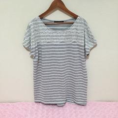 #ボーダーレース☆Tシャツ/L