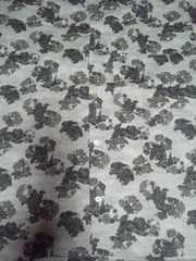☆新品白×唐獅子牡丹柄ダボシャツL