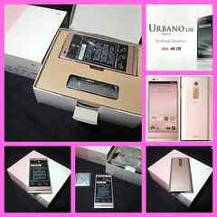 【新品未使用】au 4G LTE URBANO L02 KYY22/ピンク/判定○