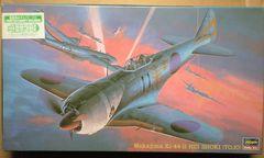 1/48 ハセガワ 日本陸軍二式単座戦闘機鍾馗�U型丙・塗装済キャノピー入り