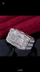 新品 AVALANCHE アバランチ 指輪 リング ジルコニア 925 18号