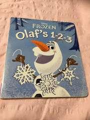 DISNEY FROZEN★olaf's 1-2-3アナと雪の女王絵本オラフ/アナユキ