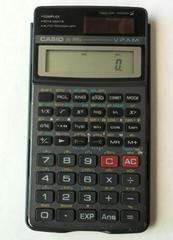 CASIO 関数電卓 fx-991s ソーラー電卓 中古可動品