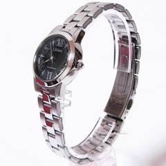 シチズンQ&Q リリッシュ ソーラー電源レディース腕時計 H039-901
