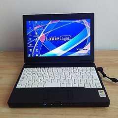 ○Wi-Fi WEBカメラ 限定格安○Win7 NECウルトラモバイルノートパソコン