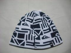 mb711 男 QUIKSILVER クイックシルバー ニット帽 ビーニー 柄